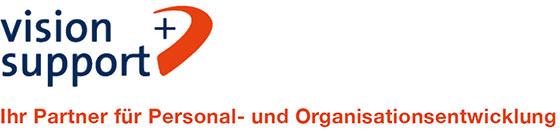 vision + support – Partner für Personal- und Organisationsentwicklung Logo